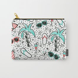 Doodle Summer Beach Carry-All Pouch
