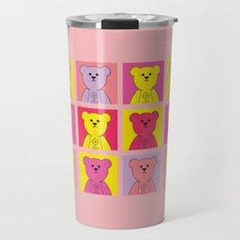 Grumpy Teds Bright Block Travel Mug