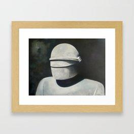 Gort: Klaatu barada nikto Framed Art Print