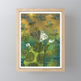 The Beekeeper Framed Mini Art Print