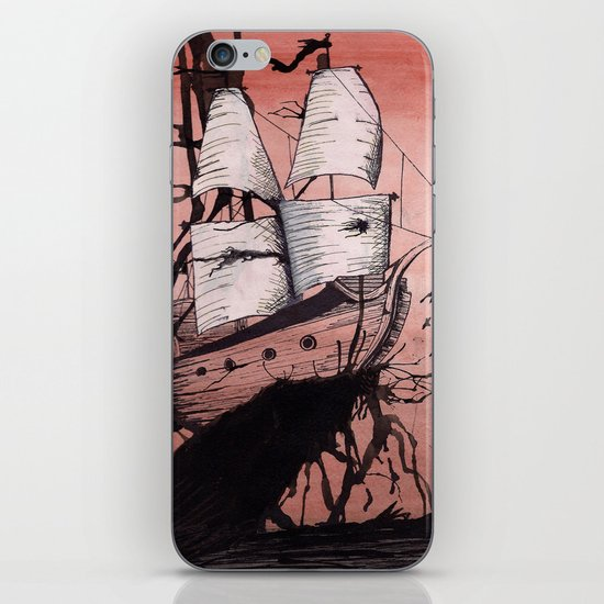 Sea of Ink iPhone & iPod Skin