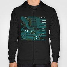 Dark Circuit Board Hoody