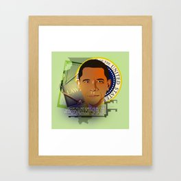 President Obama Framed Art Print