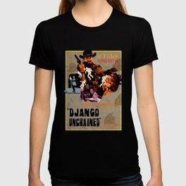 Django unchained alternative poster T-shirt