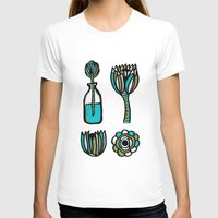 succulents T-shirts featuring Succulents by Marginalink