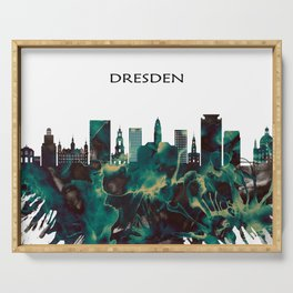 Dresden Skyline Serving Tray