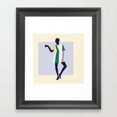 Fashion Dance 5 Framed Art Print