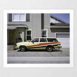 """lets send this weekend back to the future"" Art Print"
