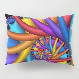 spiral art -e- Pillow Sham