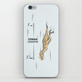 Terminal Velociraptor iPhone Skin