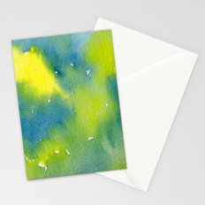 Vibrant sunshine tree top Stationery Cards