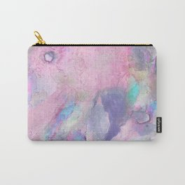 Soft Color Mermaid Style Carry-All Pouch
