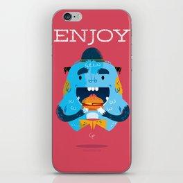 :::Enjoy Monster::: iPhone Skin