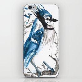 True Blue Jay iPhone Skin