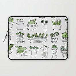 Spiky Succulents Laptop Sleeve