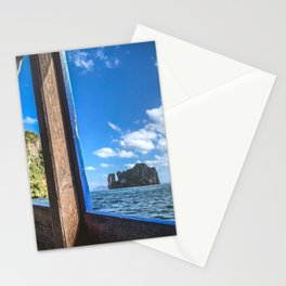 Long-tail Boat 1 Stationery Cards