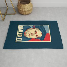 Martin Luther Nailed It Rug