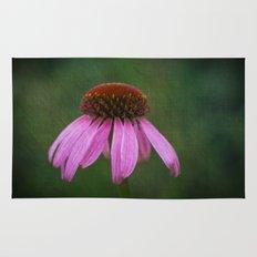 Purple Coneflower Rug