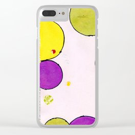Circling around Clear iPhone Case