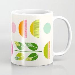 Sugar Blooms - Abstract Retro Inspired Design Coffee Mug