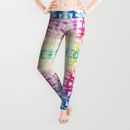 Tie Dye Rainbow Leggings