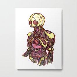 Nathaniel Brugbons, ladies Metal Print