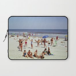 1960's Wildwood NJ Beach, Laptop Sleeve