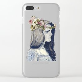 Lana Del Ray Clear iPhone Case
