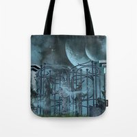 gothic Tote Bags featuring Gothic by nicky2342