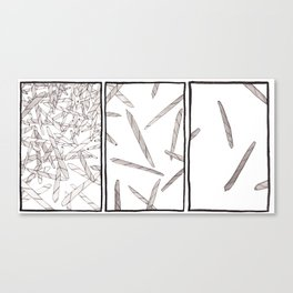 Blunts Triptych Canvas Print