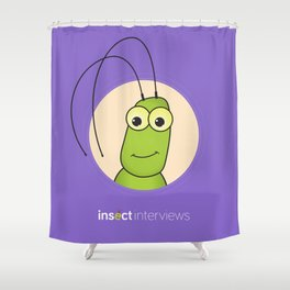 Kevin the Katydid Shower Curtain