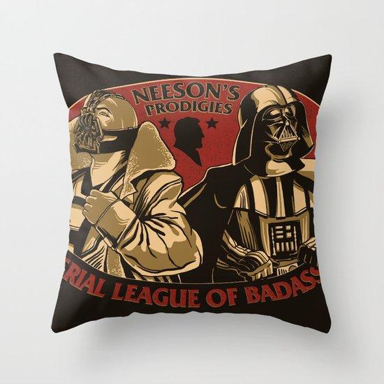 Neeson's Prodigies Throw Pillow