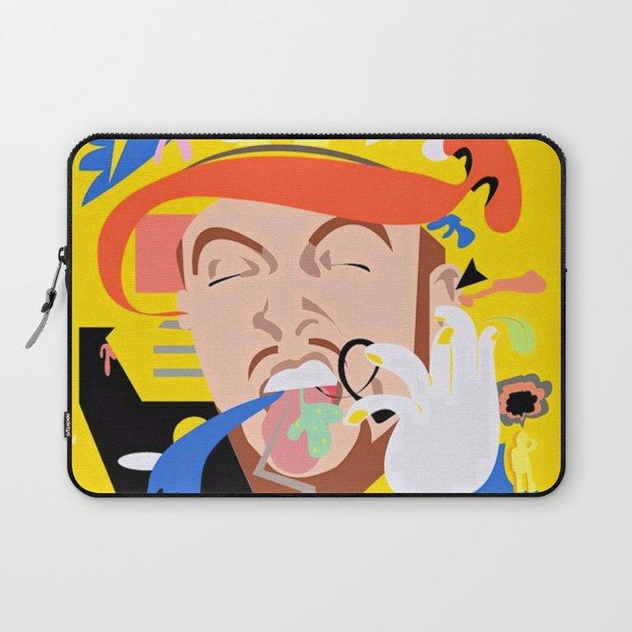 MAC MILLER---Face Art Laptop Sleeve