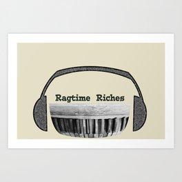 Ragtime Riches Art Print