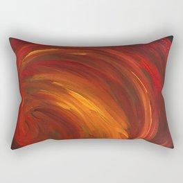 """""""Mainly Red"""" Rectangular Pillow"""