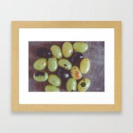 Jelly Beans 6 Framed Art Print