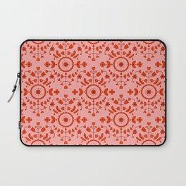Boho Floral - Orange Laptop Sleeve