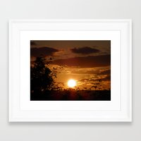 ireland Framed Art Prints featuring Ireland by American Artist Bobby B