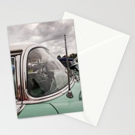 Vintage Car 3 Stationery Cards
