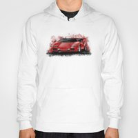 lamborghini Hoodies featuring 1985 Lamborghini Countach by an.artwrok
