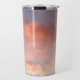 Pink and Blue Sky Over Newport Rhode Island Travel Mug