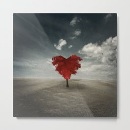 Heart Tree - Love Grows Everywhere Metal Print