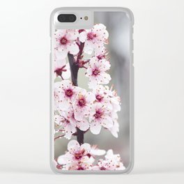 Spring Blossoms Clear iPhone Case