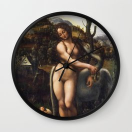 Leda and the Swan Wall Clock