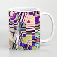 diamonds Mugs featuring Diamonds by Steve W Schwartz Art