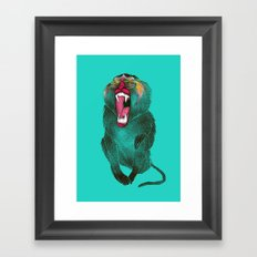 The Ultimate Baboon Framed Art Print
