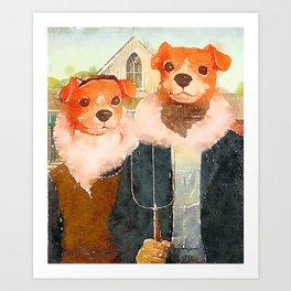 Gothic Manfred Art Print