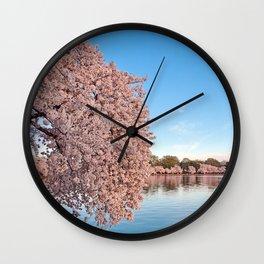 Washington DC Cherry Blossoms Wall Clock