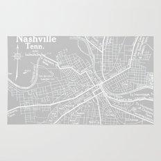 Vintage Nashville Gray Rug