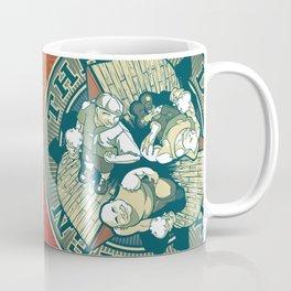Three Drunk Men Coffee Mug